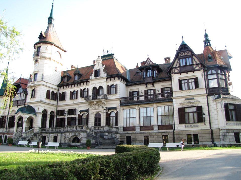 zámek Lešná
