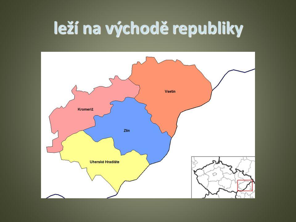 leží na východě republiky