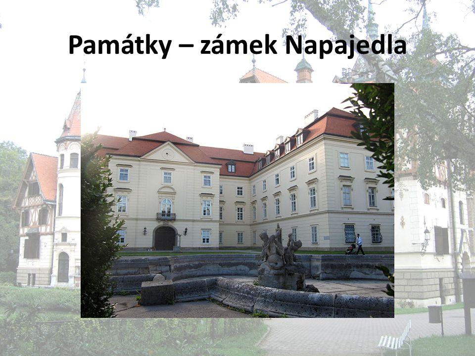 Památky – zámek Napajedla
