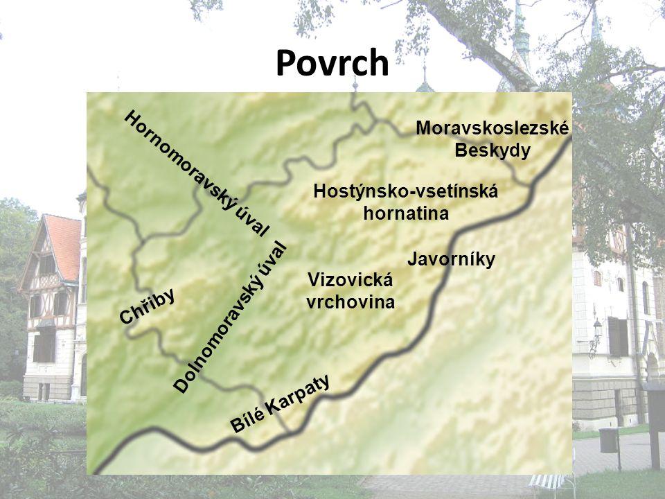 Moravskoslezské Beskydy Hostýnsko-vsetínská hornatina