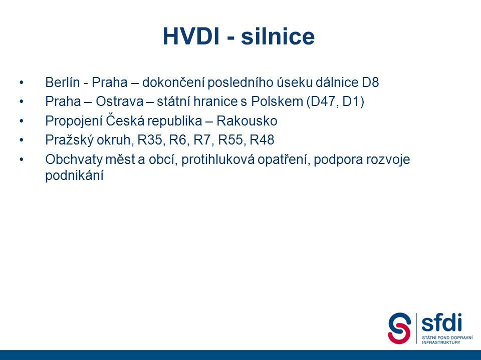 HVDI - silnice Berlín - Praha – dokončení posledního úseku dálnice D8