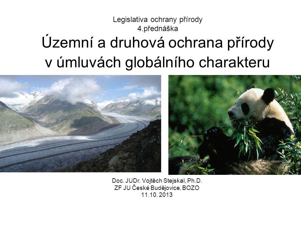 Legislativa ochrany přírody 4