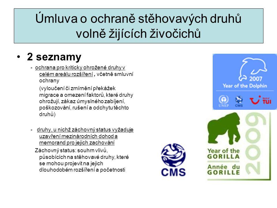 Úmluva o ochraně stěhovavých druhů volně žijících živočichů