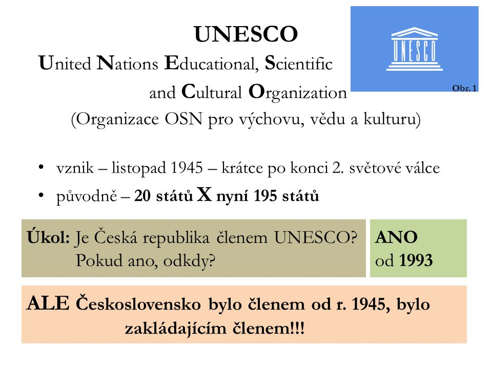 UNESCO United Nations Educational, Scientific