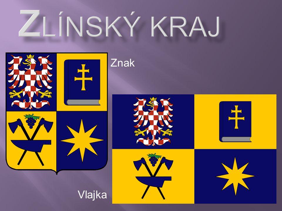 Zlínský kraj Znak Vlajka