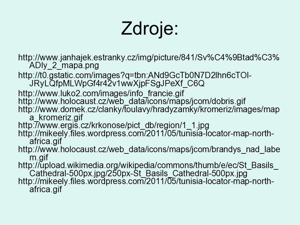 Zdroje: http://www.janhajek.estranky.cz/img/picture/841/Sv%C4%9Btad%C3%ADly_2_mapa.png.