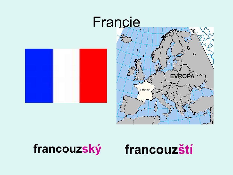 Francie francouzští francouzský