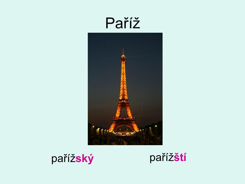 Paříž foto vlastní pařížský pařížští