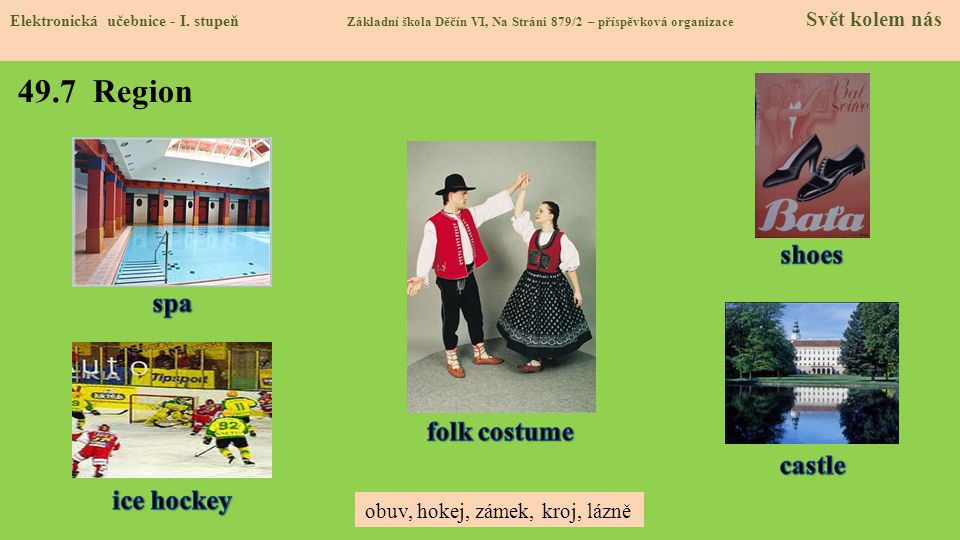49.7 Region shoes spa folk costume castle ice hockey