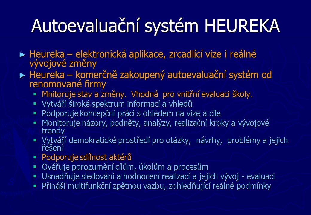 Autoevaluační systém HEUREKA