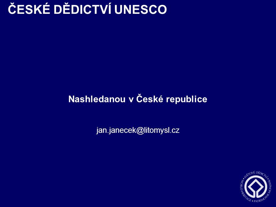 Nashledanou v České republice