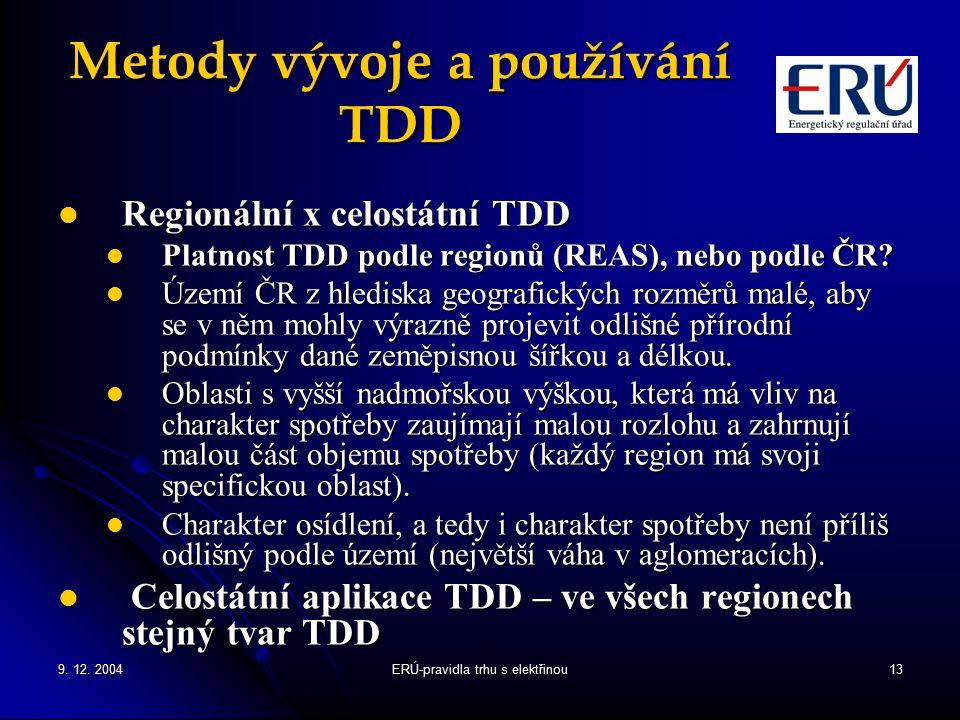 Metody vývoje a používání TDD