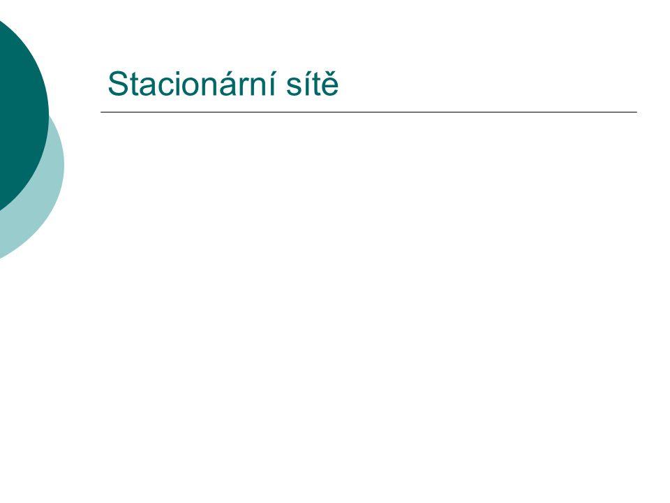 Stacionární sítě