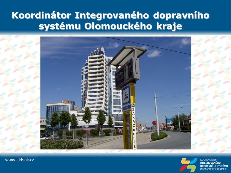 Koordinátor Integrovaného dopravního systému Olomouckého kraje