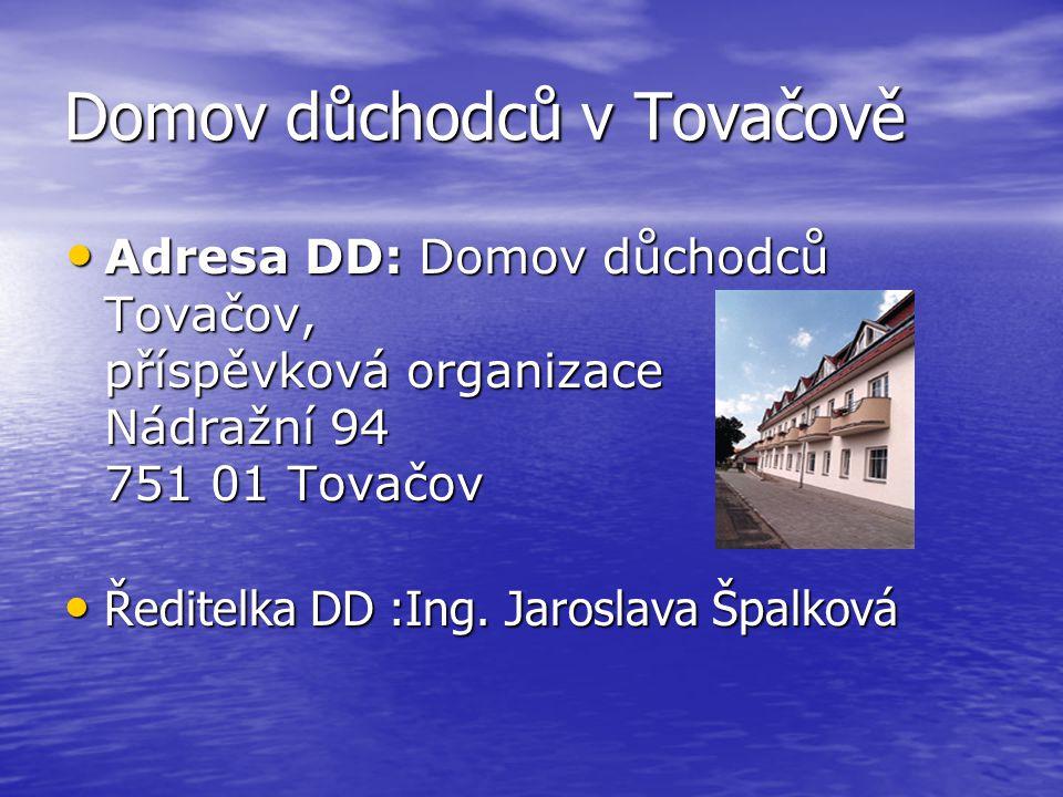 Domov důchodců v Tovačově