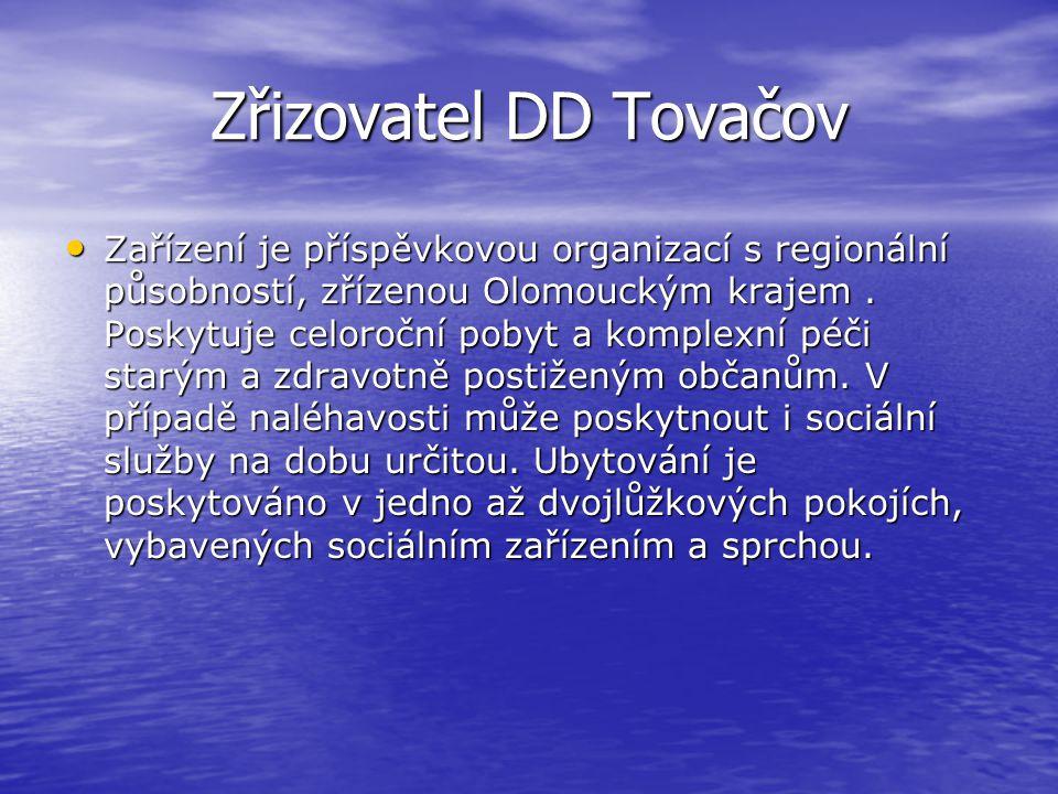 Zřizovatel DD Tovačov
