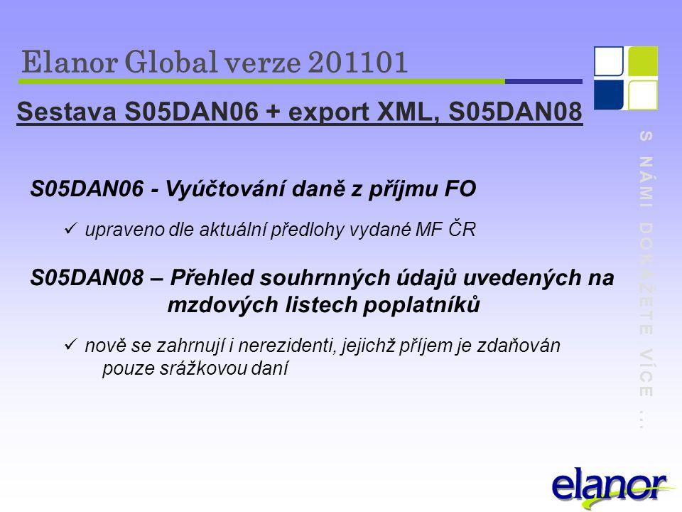 Sestava S05DAN06 + export XML, S05DAN08