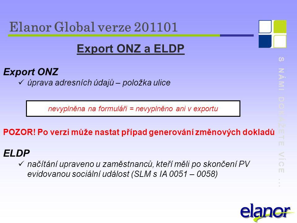 nevyplněna na formuláři = nevyplněno ani v exportu