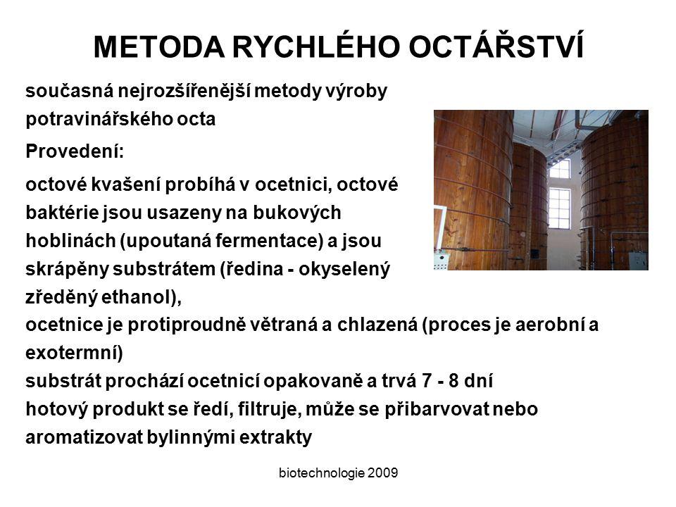 METODA RYCHLÉHO OCTÁŘSTVÍ