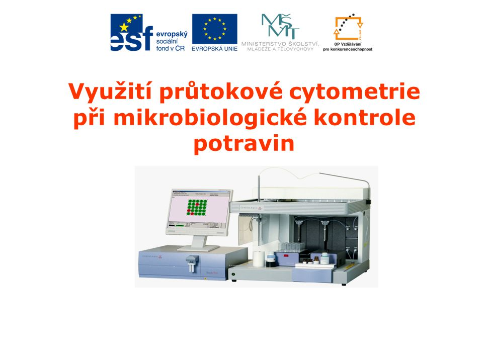 Využití průtokové cytometrie při mikrobiologické kontrole potravin