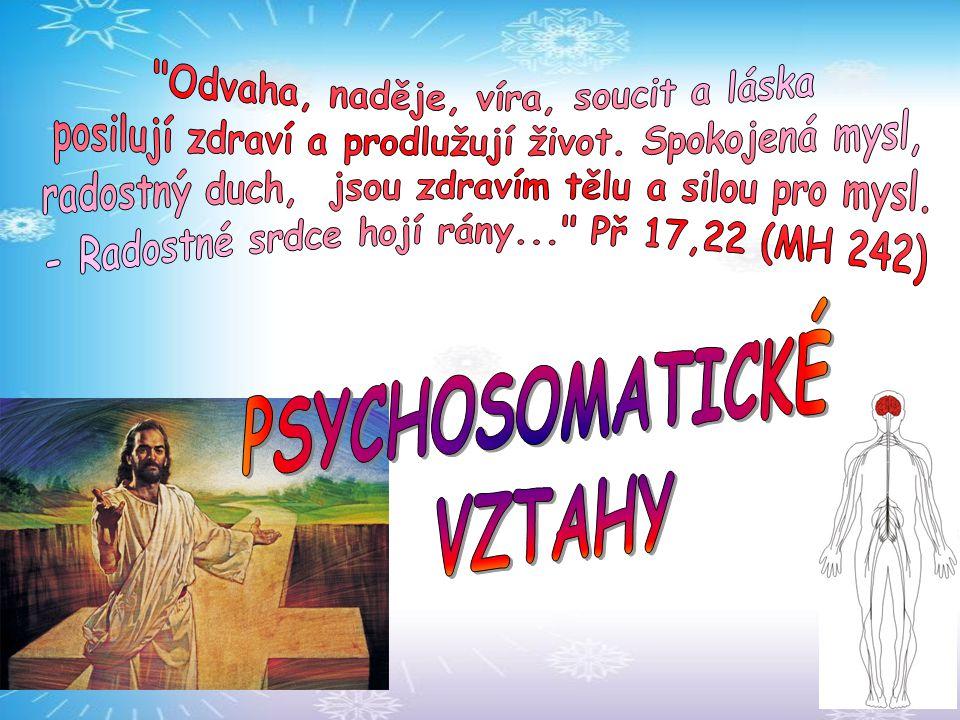 PSYCHOSOMATICKÉ VZTAHY