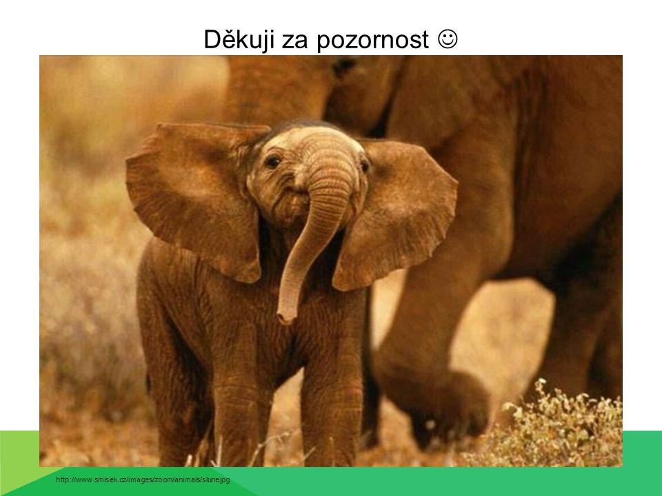 Děkuji za pozornost  http://www.smisek.cz/images/zoom/animals/slune.jpg