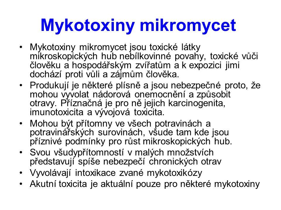 Mykotoxiny mikromycet