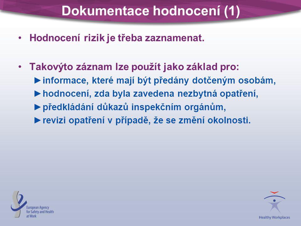 Dokumentace hodnocení (1)