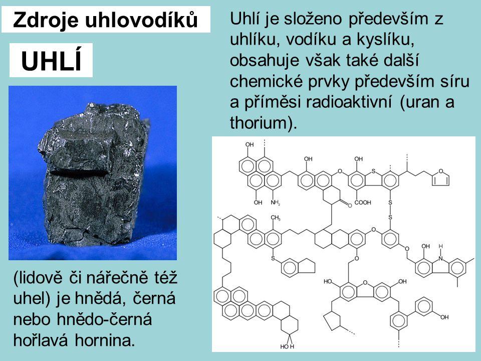 UHLÍ Zdroje uhlovodíků