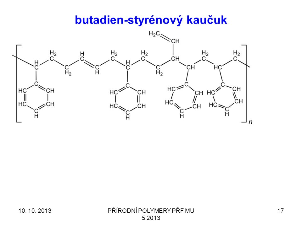 butadien-styrénový kaučuk