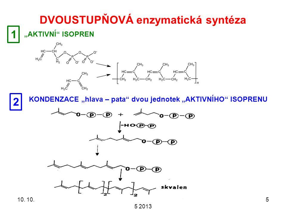 DVOUSTUPŇOVÁ enzymatická syntéza