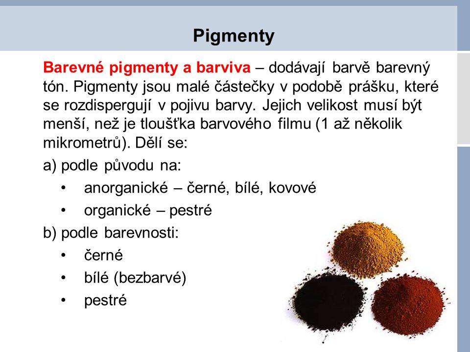 Pigmenty