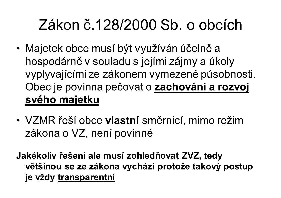 Zákon č.128/2000 Sb. o obcích