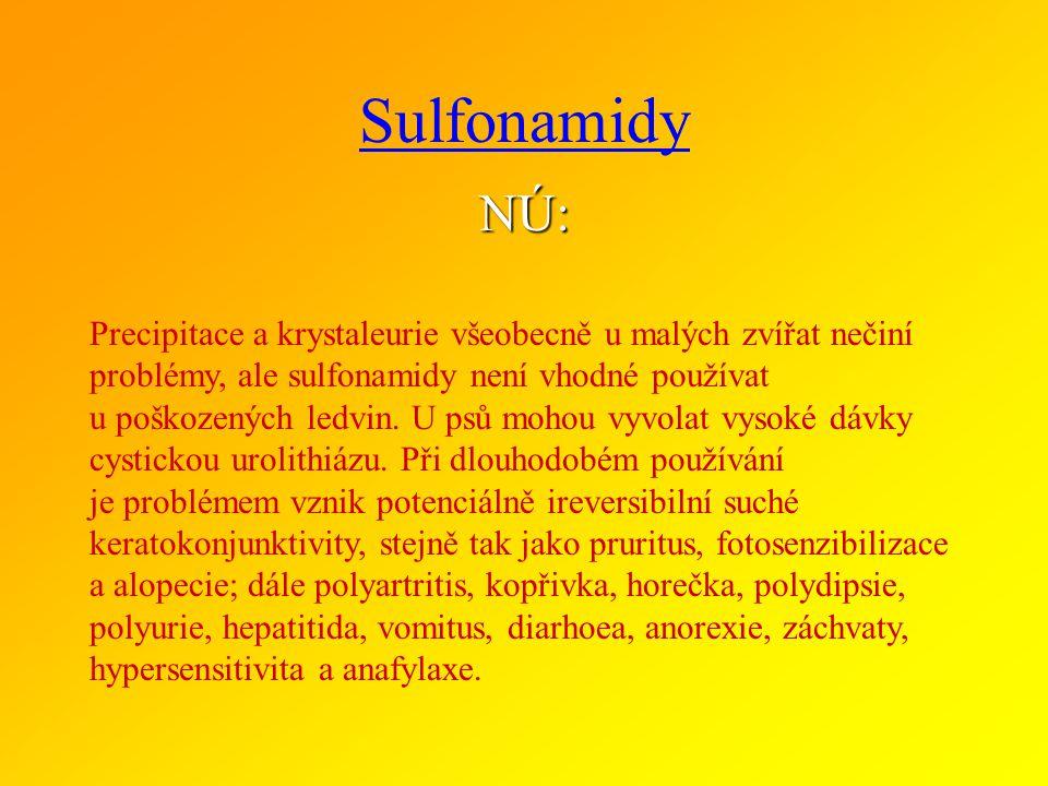 Sulfonamidy NÚ:
