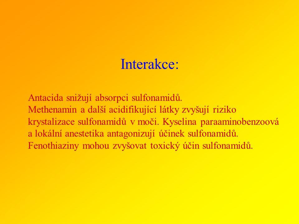 Interakce: