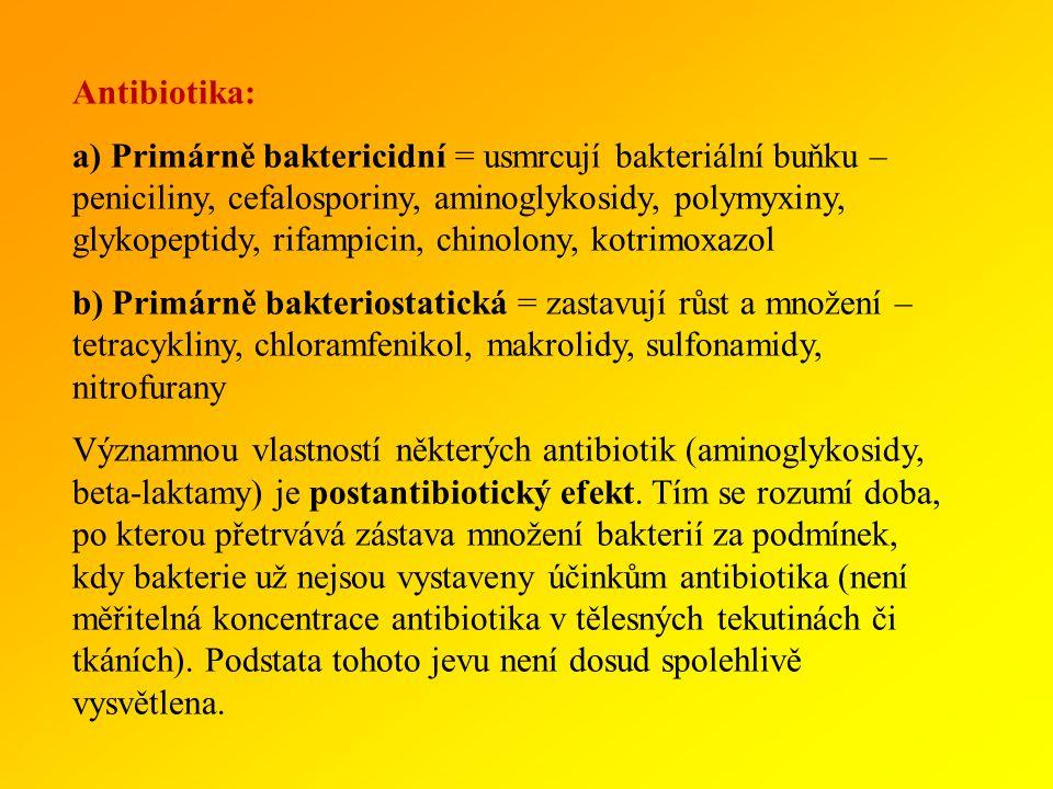Antibiotika: