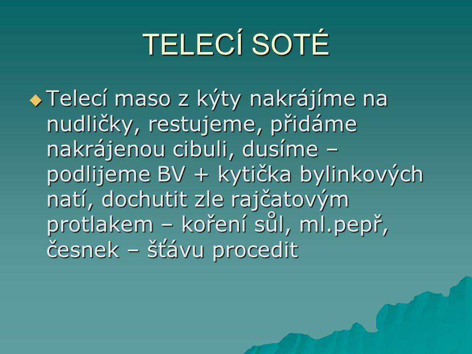TELECÍ SOTÉ