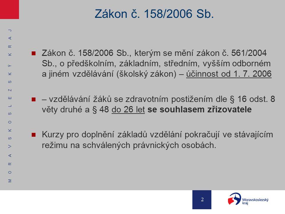 Zákon č. 158/2006 Sb.