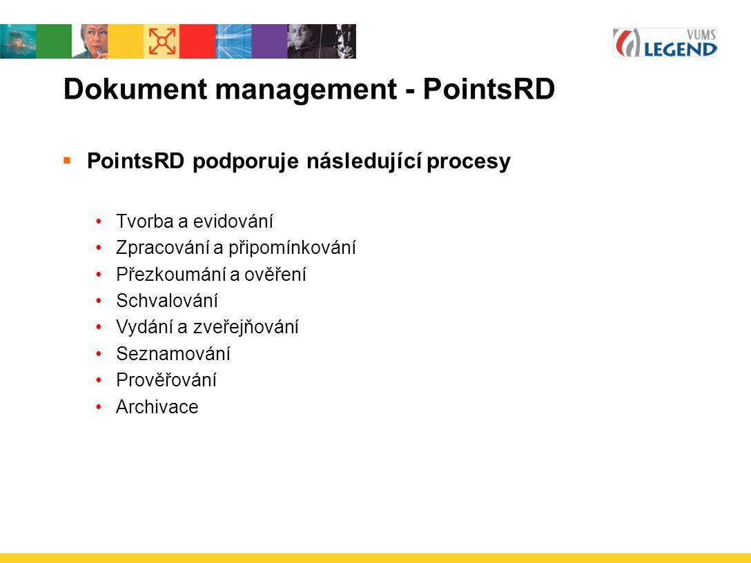 Dokument management - PointsRD