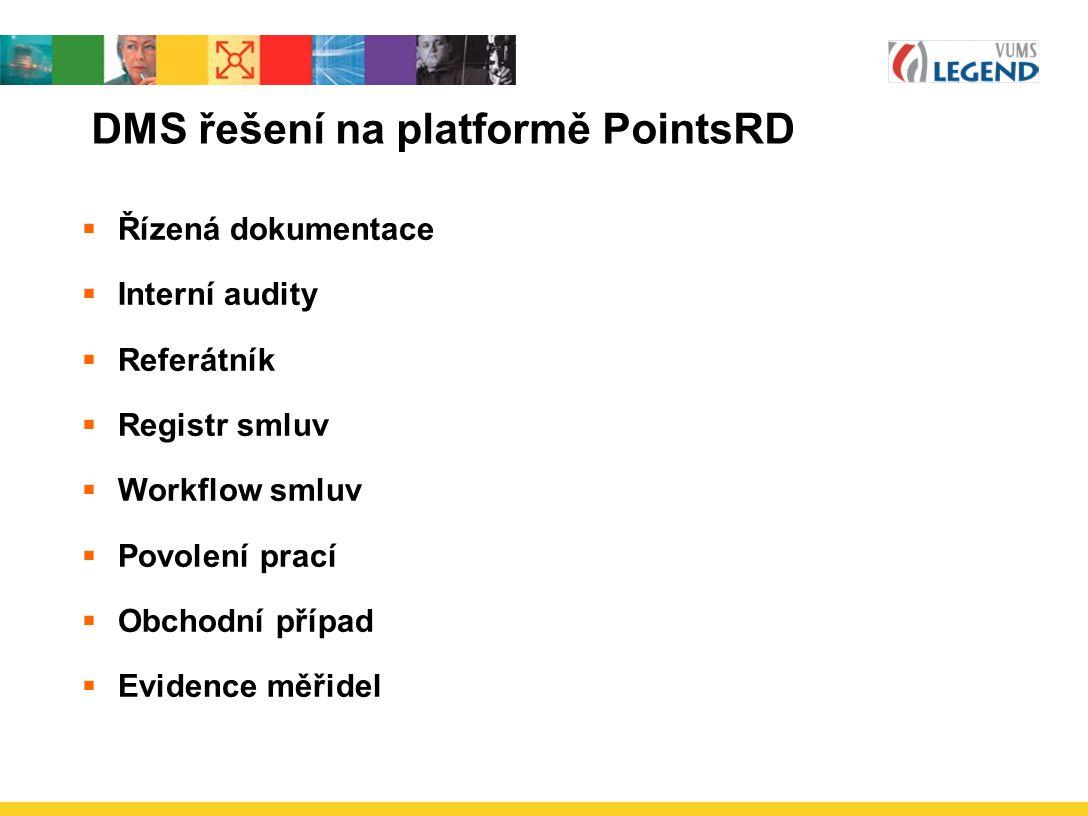DMS řešení na platformě PointsRD