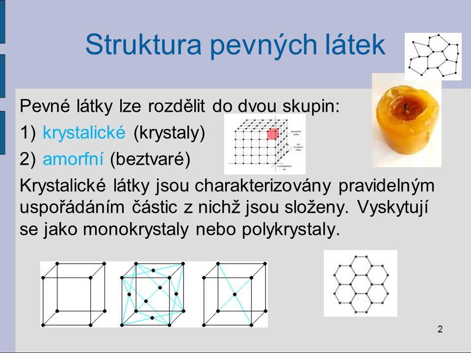 Struktura pevných látek
