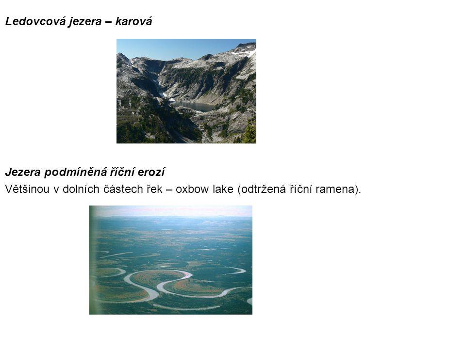 Ledovcová jezera – karová