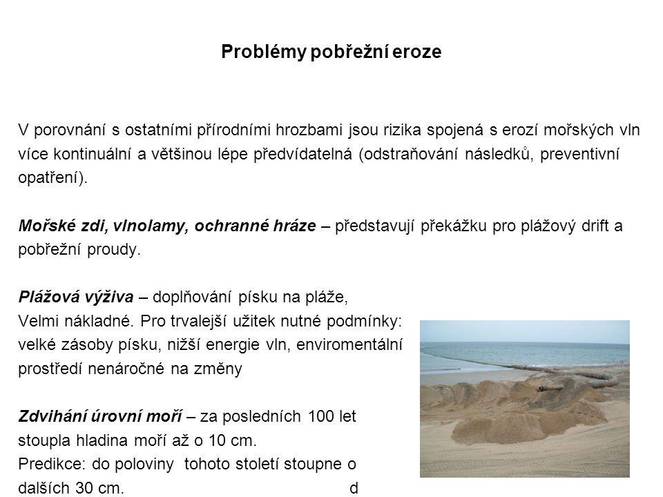Problémy pobřežní eroze