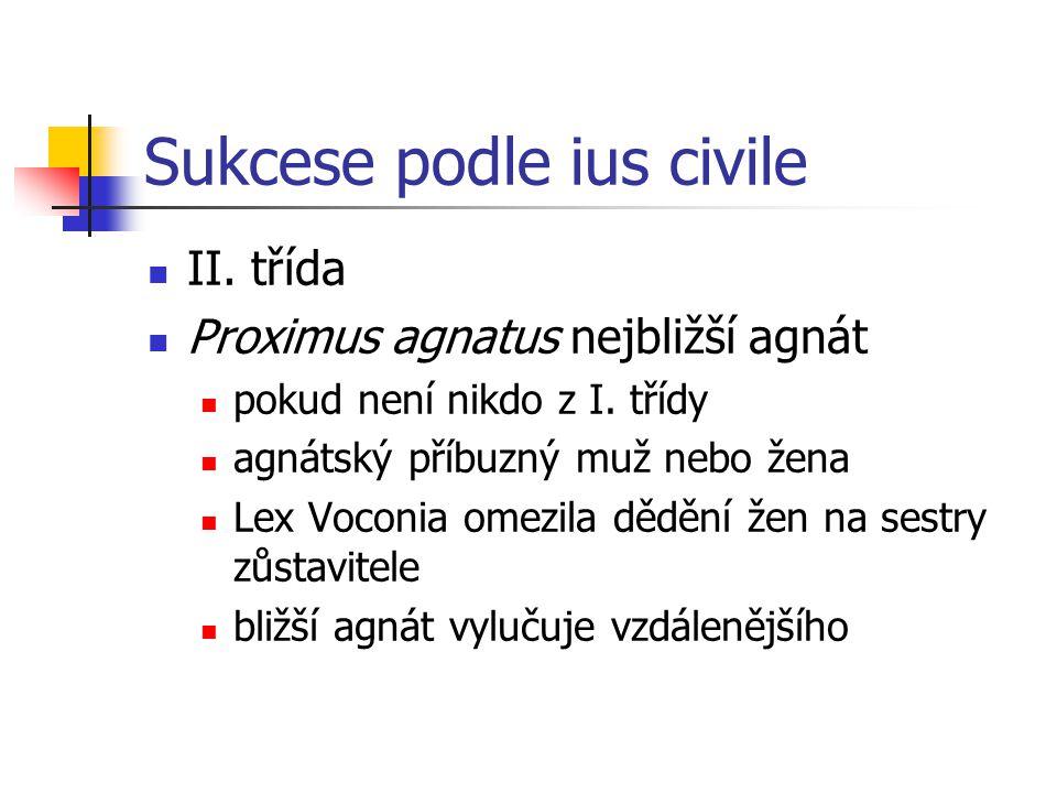 Sukcese podle ius civile