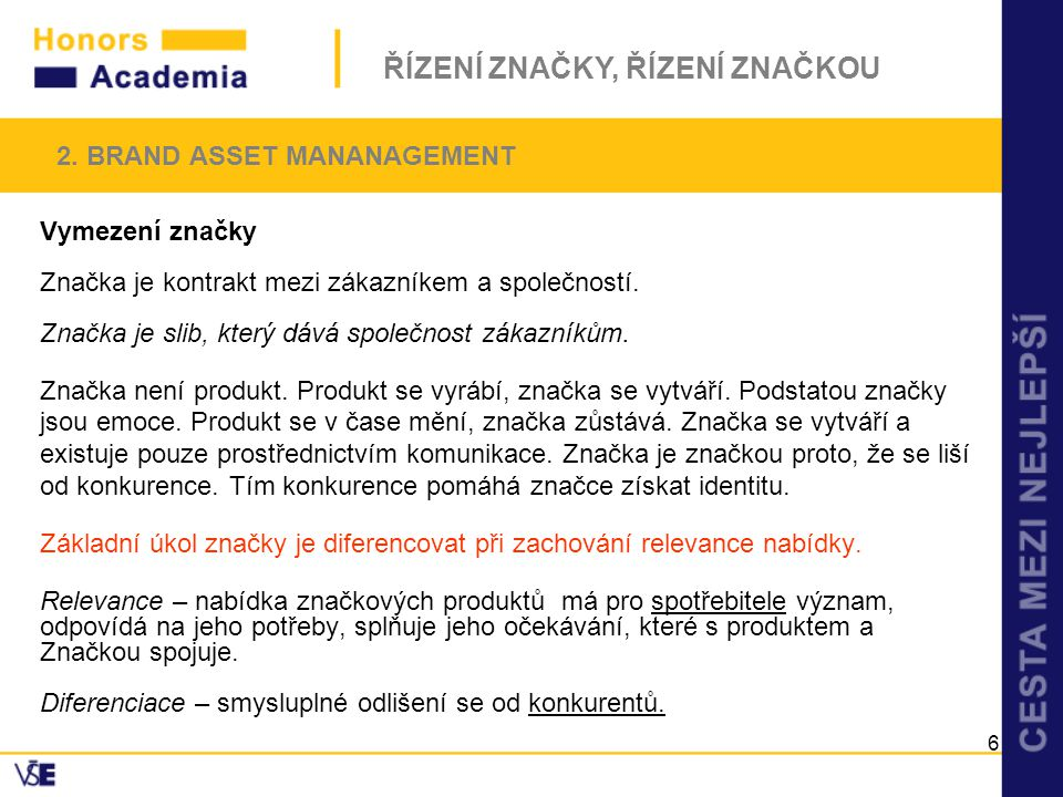 2. BRAND ASSET MANANAGEMENT