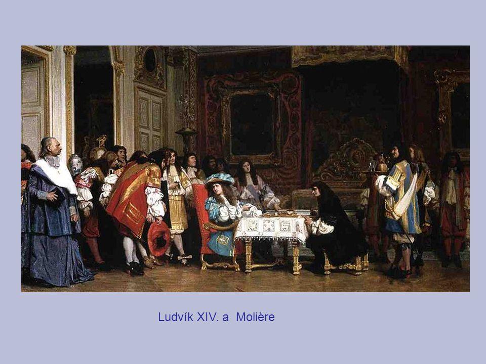 Ludvík XIV. a Molière