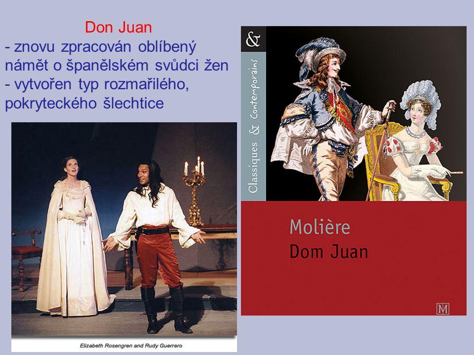 Don Juan - znovu zpracován oblíbený námět o španělském svůdci žen.