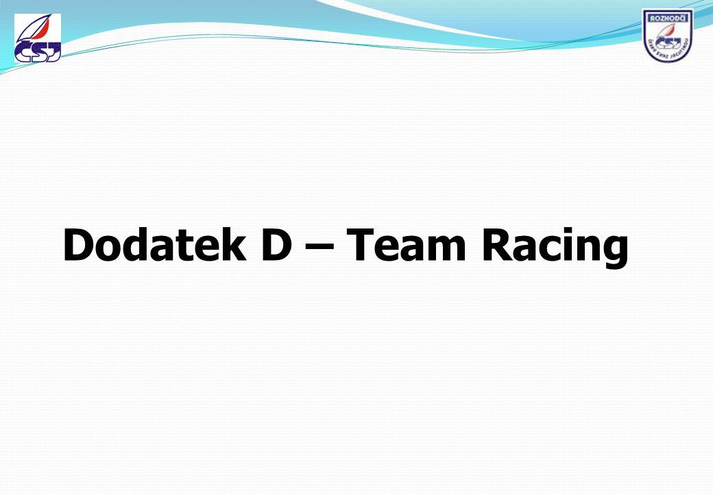 Dodatek D – Team Racing