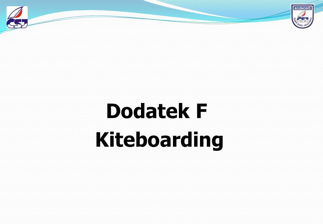 Dodatek F Kiteboarding