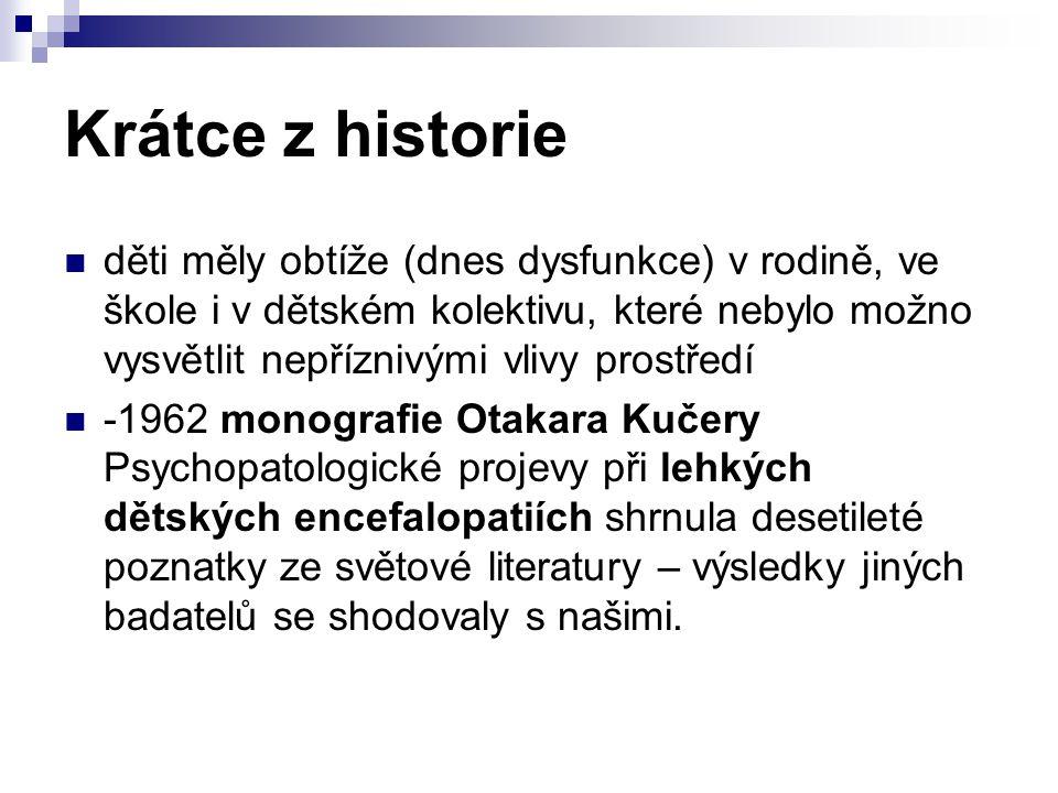 Krátce z historie